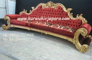 sofa kerang  mewah