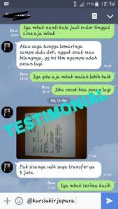 Testimoni Mbak Ratih Jkt