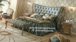 Set Kamar Tidur Mewah Rose Art