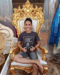 Kings Kursi Ukir Luxury